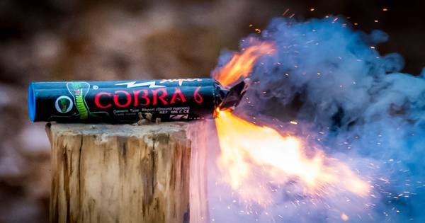 6500 nitraten en 46 cobra's: Politie vindt 116 kilo aan illegaal vuurwerk in kelder van 18-jarige Rijswijker .