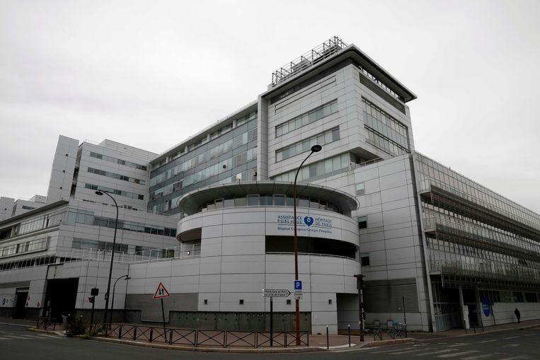 Het Georges-Pompidou-ziekenhuis in Parijs.