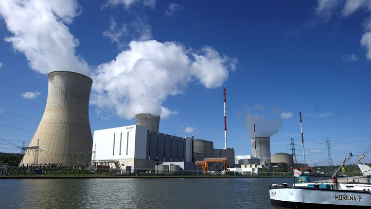 Kerncentrale Tihange in België Beeld ANP
