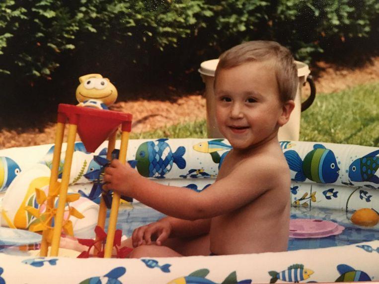 De jonge Paul in 1989. Beeld RV