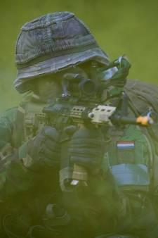 Militairen oefenen in Noordoost-Twente
