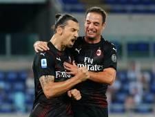 Ibrahimovic en AC Milan helpen Juventus in titelstrijd met zege op Lazio