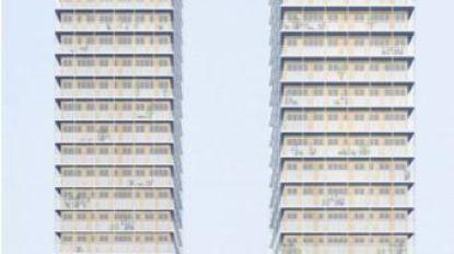 """Wijk dient bezwaar in tegen project aan  Gent-Sint-Pieters: """"Deze hoogbouw werkt verstikkend"""""""