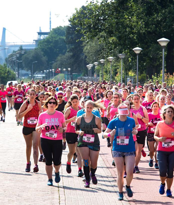 Ladiesrun in Eindhoven.