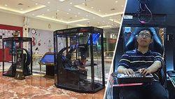 Winkelcentrum installeert 'gamestations' voor mannen die wachten op hun vriendin
