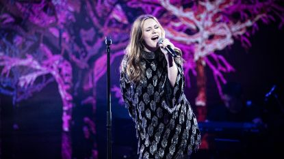 Zita (14) blijft als laatste West-Vlaamse over in de halve finale van The Voice Kids