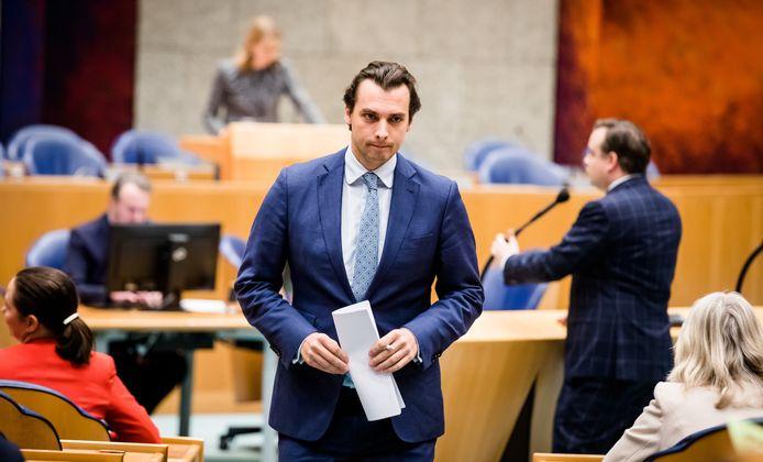 Thierry Baudet (FvD) in de Tweede Kamer