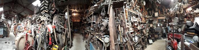 Een overzicht van het museum van Theo Danen. Foto Janneke Hobo