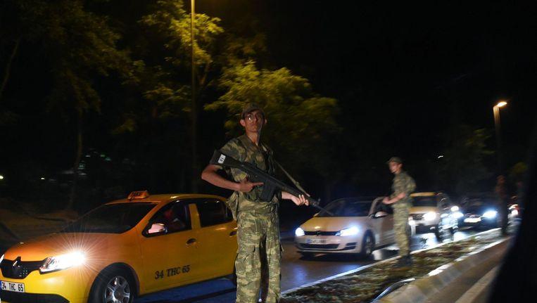 Een groep militairen heeft vrijdag een poging gedaan tot een staatsgreep in Turkije. Beeld anp