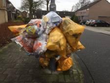 Uden gaat bekeuren bij fouten met zakken verpakkingsafval