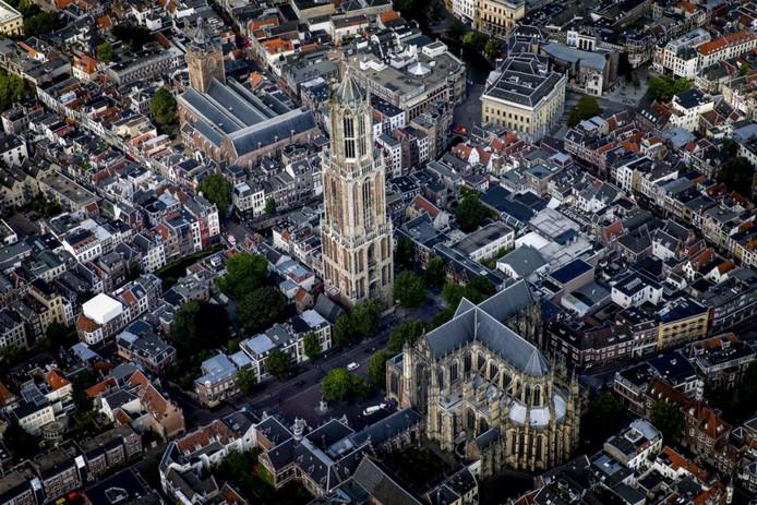 Utrecht vanuit de lucht.
