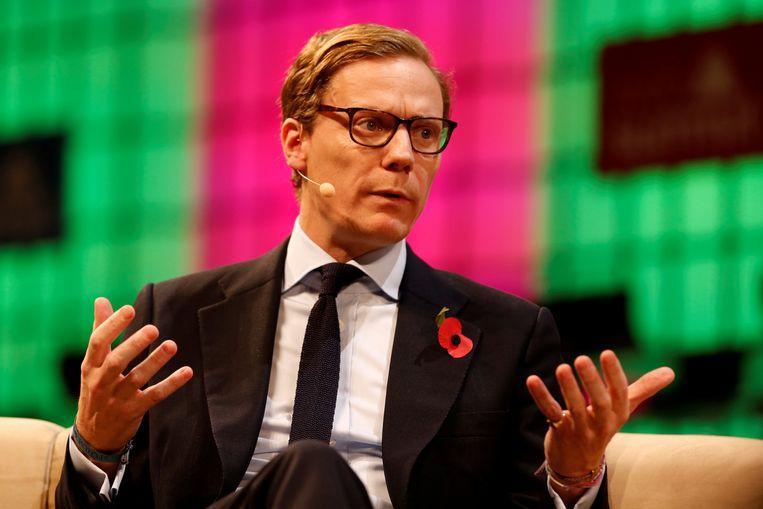 Alexander Nix, de CEO van Cambridge Analytica, werd recent geschorst door het bedrijf.