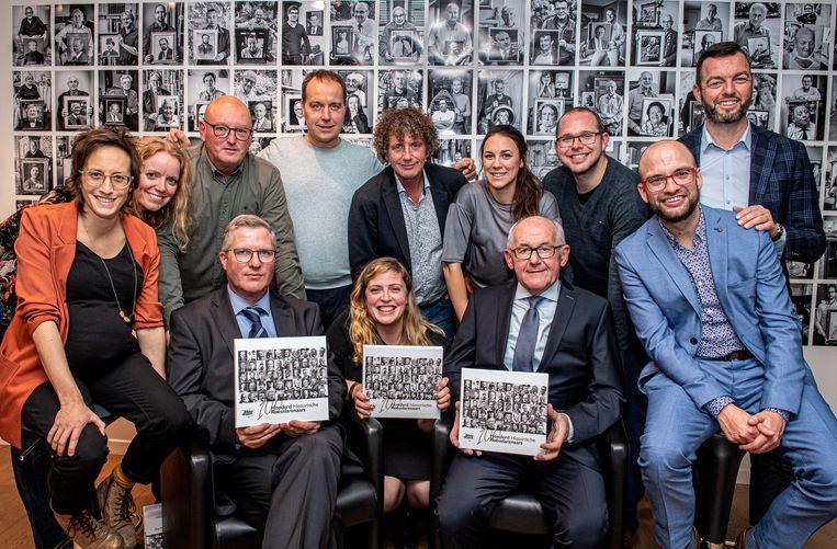 Het team achter 'Honderd Historische Roeselarenaars' is trots op het sluitstuk van hun trilogie.