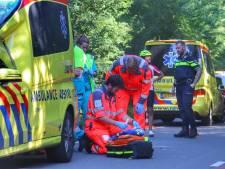 Wielrenster raakt gewond op Bergweg in Amerongen