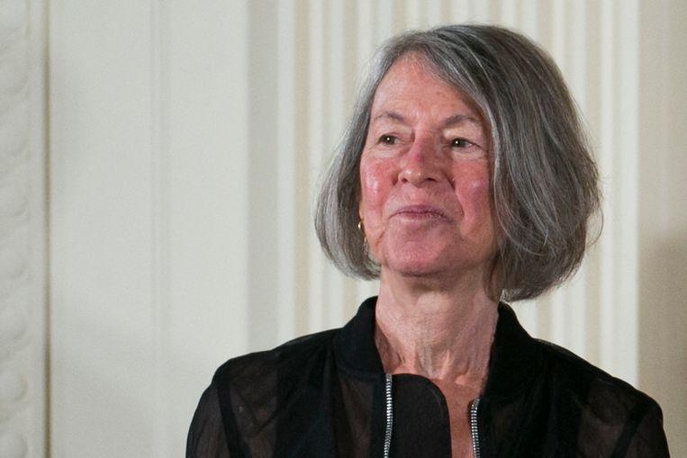De Amerikaanse dichter Louise Glück. Beeld EPA