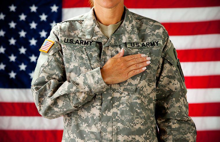 Maatje Benassi is reserviste voor het Amerikaanse leger.