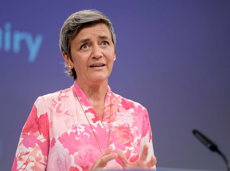 EU-commissaris voor Mededinging Margrethe Vestager