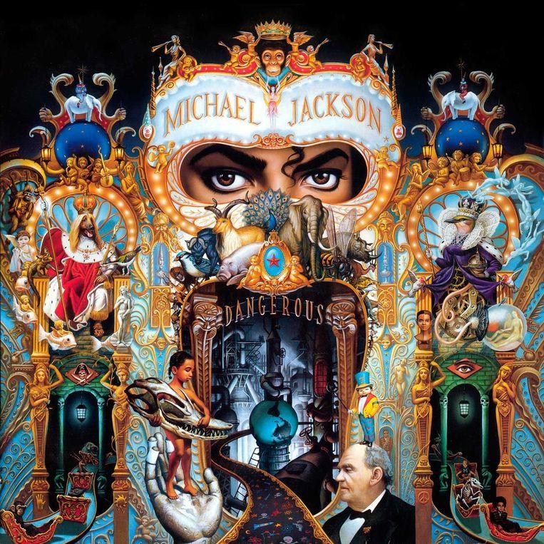 Albumhoes Michael Jackson. Beeld