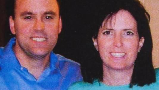 Lori en haar ex-man Jon in 2010