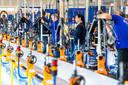 Fietsenfabrikant Gazelle maakt (elektrische) fietsen.