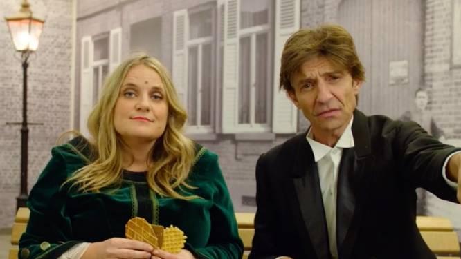 Bloopers: Koen Wauters en Ruth Beeckmans gaan plat van het lachen op de set van 'Snackmasters'