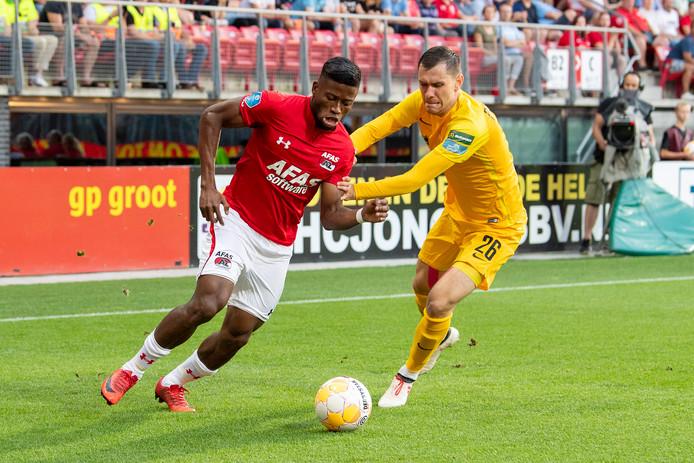 AZ, vorig seizoen derde in de Eredivisie, werd in de tweede voorronde van de Europa League uitgeschakeld door Kairat Almaty uit Kazachstan.