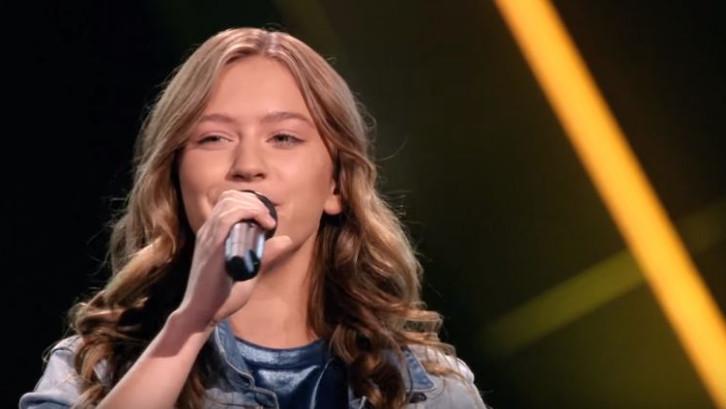 Bekijk hier het optreden van Sterre uit Zutphen in The Voice Kids