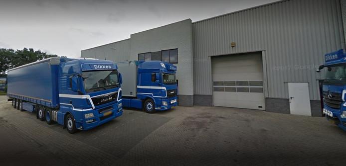Dikken Transport in Nieuwleusen.