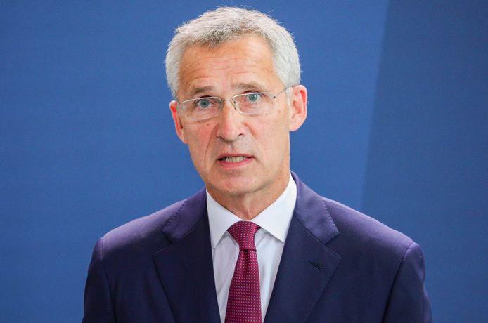 NAVO-chef Jens Stoltenberg