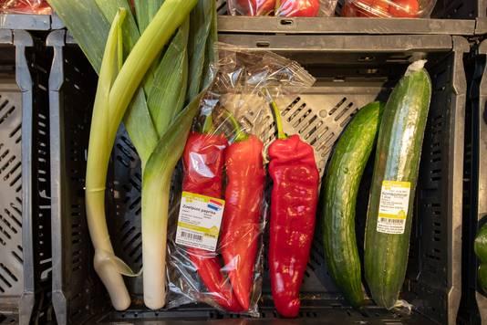 Afgekeurde groenten van telers die wellicht nu wel in de schappen komen naast die van de Plus.