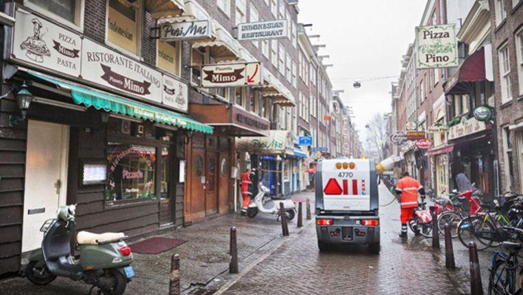 Gevels in de Leidsedwarsstraat. Foto © Marc Driessen, marcdriessen.nl Beeld