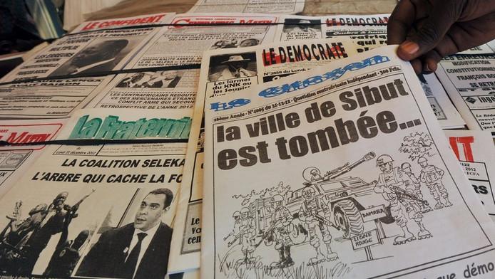 La presse nationale s'inquiète en Centrafrique