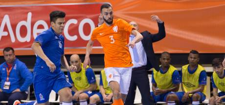 Flinke afvaardiging zaalvoetballers FC Eindhoven in Oranje