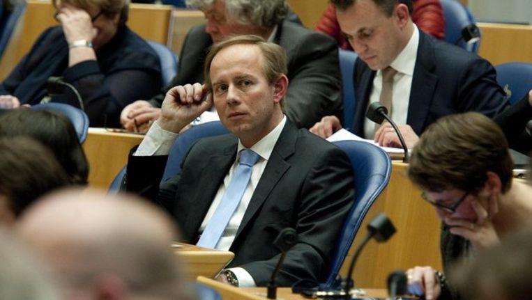 SGP-fractievoorzitter Kees van der Staaij. Beeld anp
