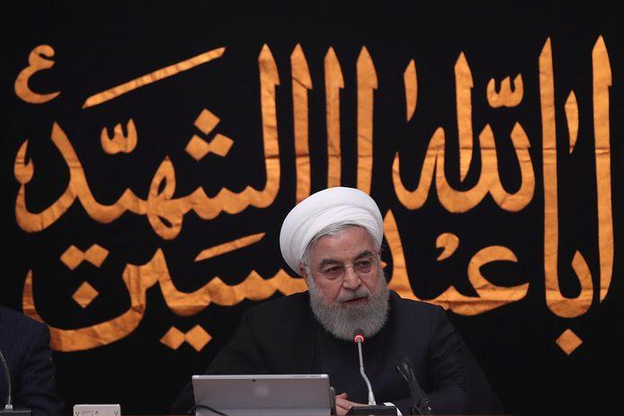 De Iraanse president Hassan Rouhani (archiefbeeld).