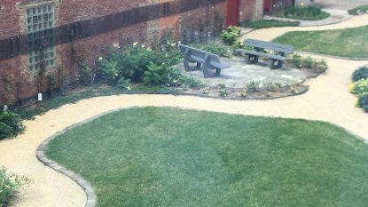 Gedetineerden van Leuven Centraal wandelen voortaan door een groene binnentuin en niet meer tussen beton