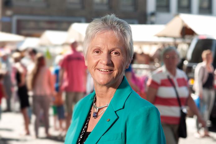 Voormalig wethouder Margot Stolk heeft nog geen beroep gedaan op de wachtgeldregeling.