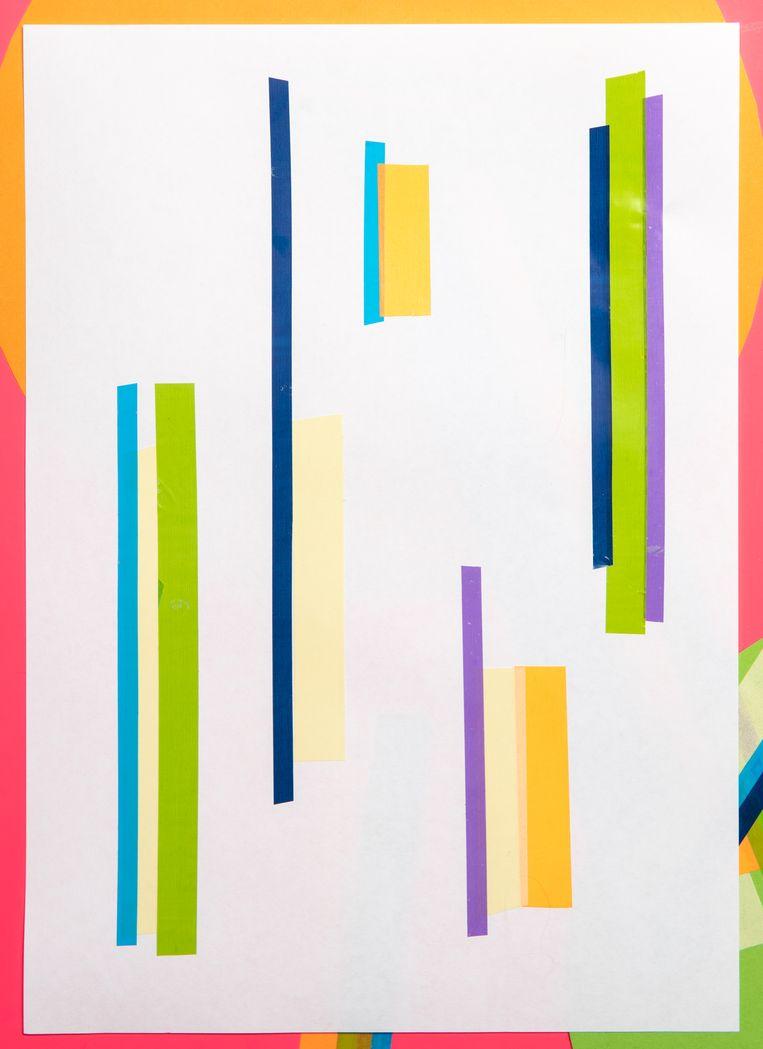 Collages voor Cover V. Holland Festival HF19 Beeld Studio V