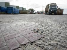 Straatklinkers Lorentz maken plaats voor glad asfalt