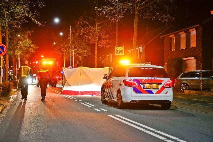 Scooterrijder overleden in Bladel.