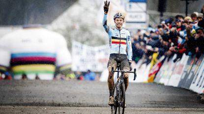 """Van Aert: """"Beleefde een van mijn beste dagen op de fiets"""""""