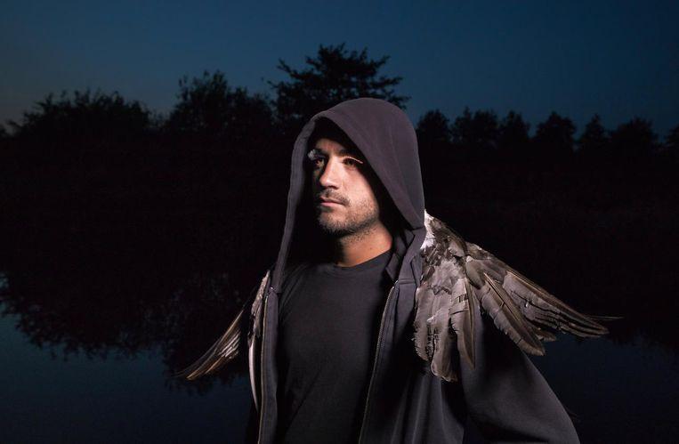 Een van de voorstellingen op Fringe is Nachtkraaien, een zwartkomische voorstelling over afscheidsfeestjes. Beeld Maarten Tromp