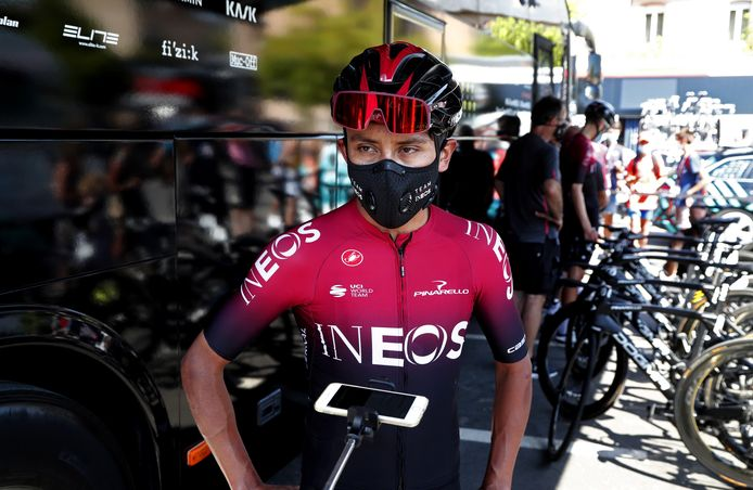 Tourwinnaar Egan Bernal.