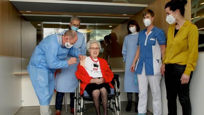 """Thelma Rootsaert wordt volgende week 104 en krijgt haar coronaprik: """"Het spuitje naar de vrijheid"""""""