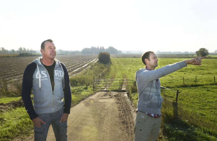 Jaap Dirkmaat (links) van das en Boom.