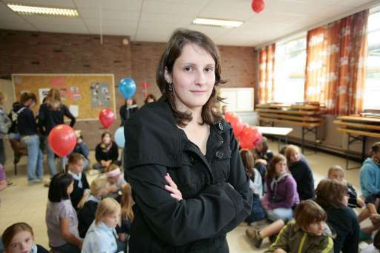 Kathleen Vandael werd in Zonhoven onthaald als een echte heldin.