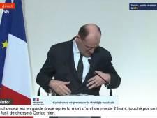 Le petit moment de solitude de Jean Castex avant sa conférence de presse
