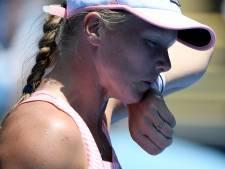 Fikse domper: Bertens sneuvelt op Australian Open