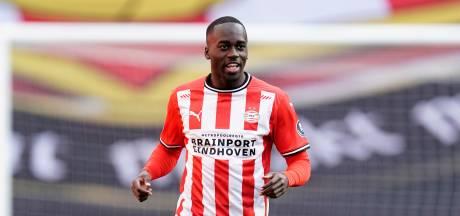 PSV-verdediger Teze haakt af bij Jong Oranje door positieve coronatest