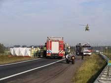 Dode bij ongeluk met vrachtwagen bij Kampen
